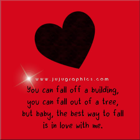 The best way to fall isin love with me