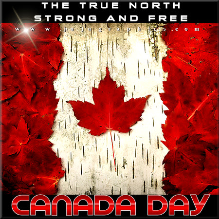 The true north strong and free Canada Day 2 Copy