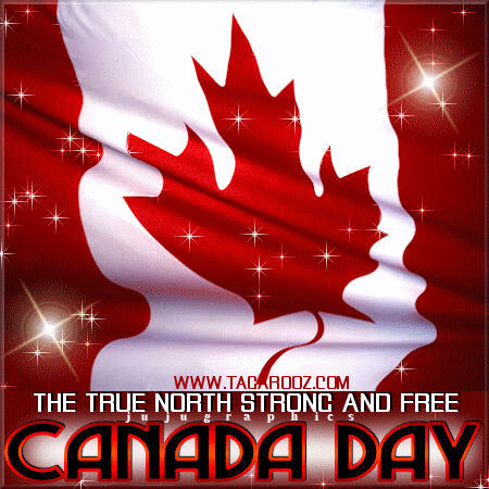 The true north strong and free Canada Day 3 Copy