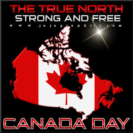 The true north strong and free canada day Copy