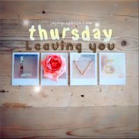 Thursday leaving you love (2)
