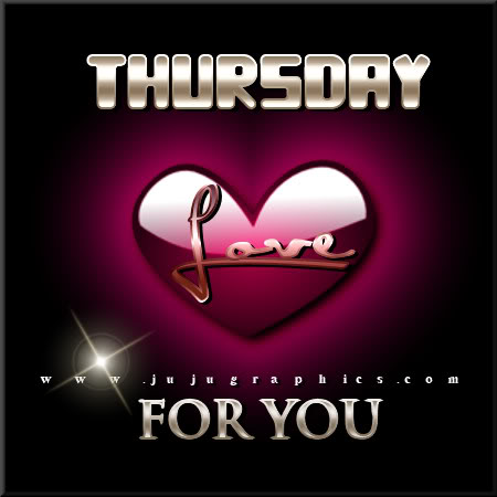 Thursday love for you