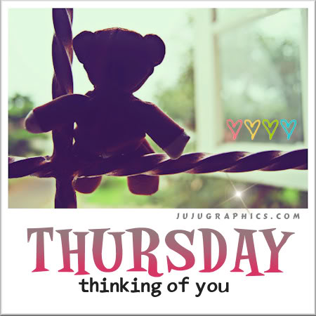 Thursday thinking of you