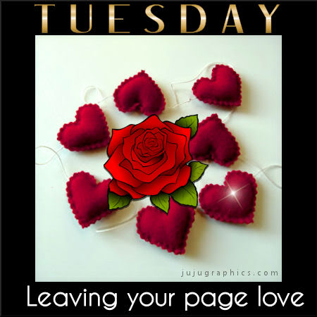 Tuesday leaving your page love 2