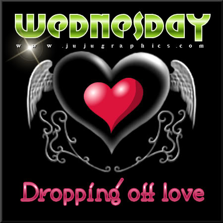 Wednesday dropping off love