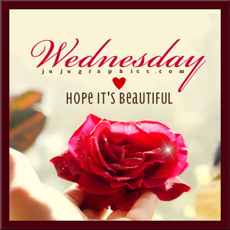 Wednesday hope its beautiful 2
