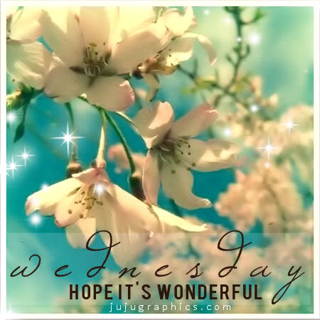 Wednesday hope its wonderful 1