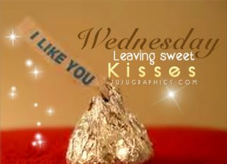 Funny wednesday graphics graphics quotes comments images wednesday leaving sweet kisses sciox Gallery