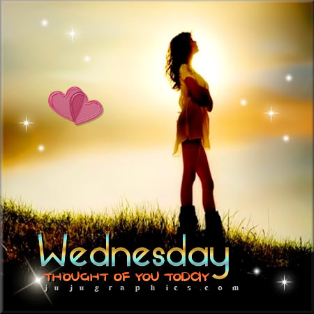 Wednesday thought of you today