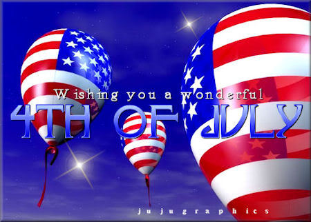 Wishing you a wonderful 4th of July
