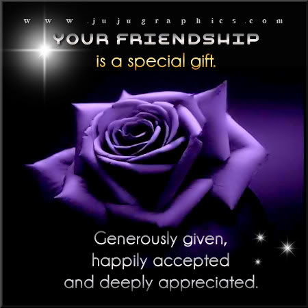 Your friendship is a special gift 2