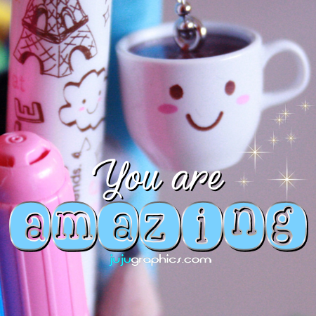 compliment you are amazing