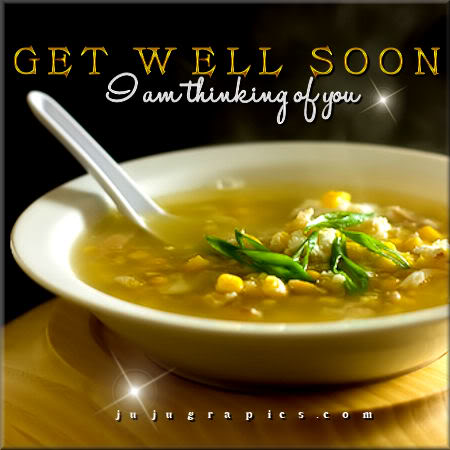 get well soon I am thinking of you
