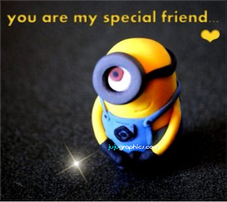 You are my special friend