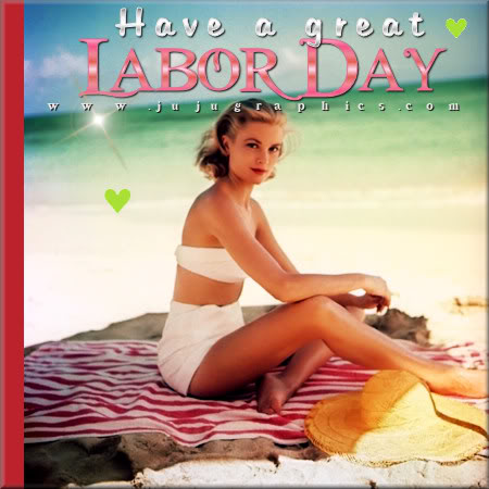 Have a Great Labor Day Beach Blanket Babe