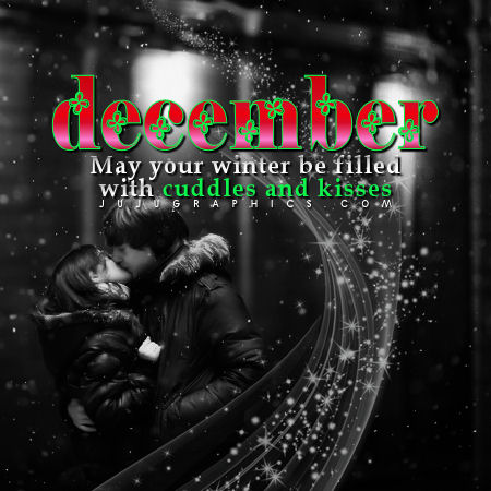 December May Your Winter Be Filled With Cuddles and Kisses