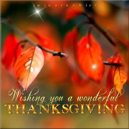 Wishing You a Wonderful Thanksgiving