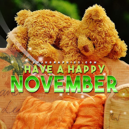 months november have a happy november