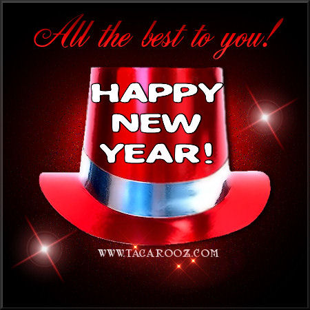 All the best to you Happy New Year