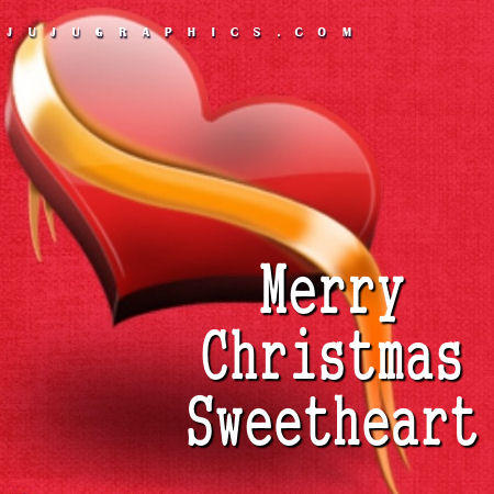 Merry Christmas Sweetheart