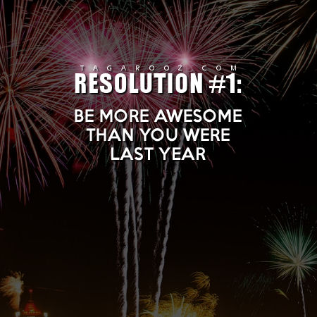 New Years Resolution 1