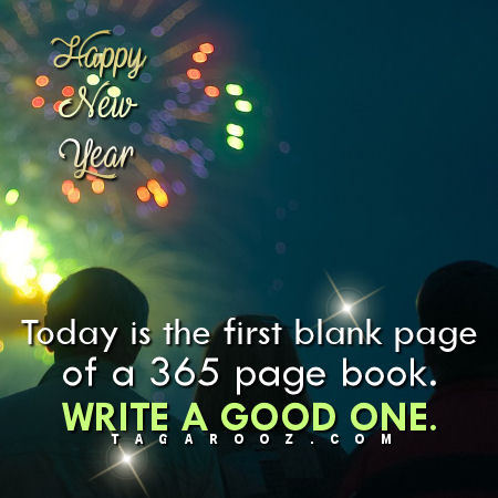Today is the first blank page of a 365 page book