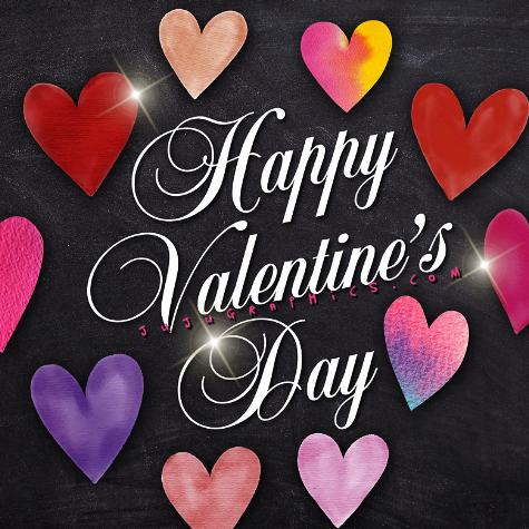 Happy Valentine's Day  | Jujugraphics.com