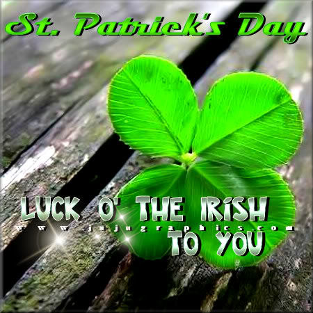 St Patricks Day Luck O The Irish To You