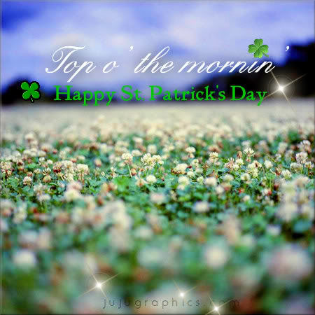 Top O The Mornin Happy St Patricks Day