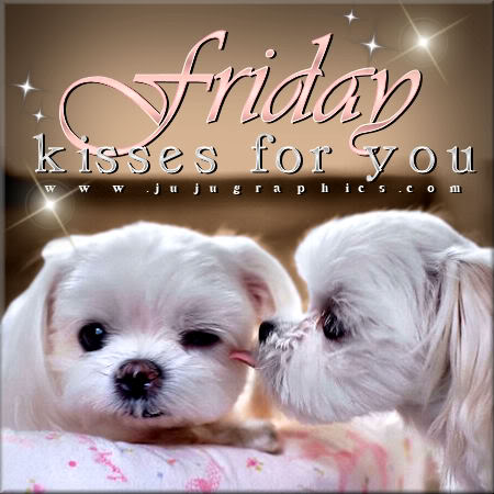 Friday kisses for you 2 - Graphics, quotes, comments