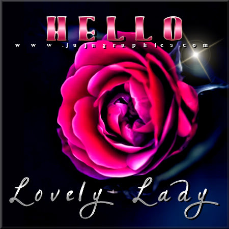 Hello lovely lady - Gr...