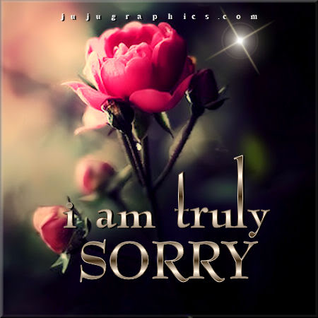 I am truly sorry - Graphics, quotes, comments, images