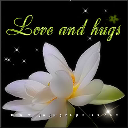 Love and hugs - Graphics, quotes, comments, images