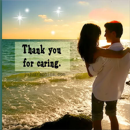 Thank you for caring - Graphics, quotes, comments, images