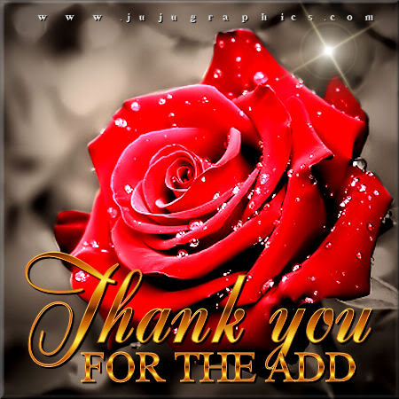 Thank you for the add 8 - Graphics, quotes, comments