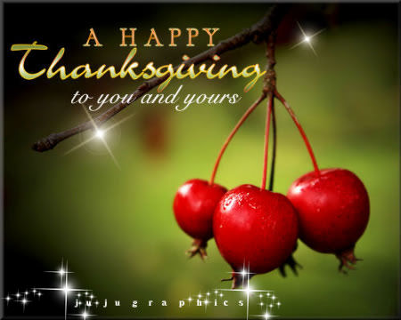 A Happy Thanksgiving to You and Yours - Graphics, quotes